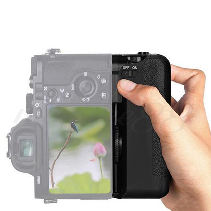 New Meike MK-A7 Vertical Camera Multi-power Battery Grip for Sony A7 A7r A7s as VG-C1EM Camera Free Shipping neewer meike battery grip for sony a6300 camera built in 2 4ghz remote control work with 1 or 2 np fw50 battery