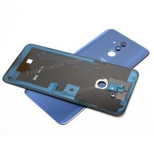 "Image 3 - Original For 6.3"" Huawei Mate 20 Lite Glass Back Battery Cover Case Rear+Glass Lens For Mate 20 Lite Rear Door"