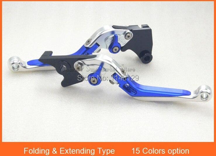 CNC Extending Motorcycle brake clutch levers For Suzuki GSR750 2011-2015 SFV650 GLADIUS 2009-2015 DL650/V-STROM 2011 2012 GSR600 motorcycle cnc aluminum brake clutch levers for suzuki sfv650 gladius 2009 2015 dl650 v strom 2011 2012 gsr600 2006 2011