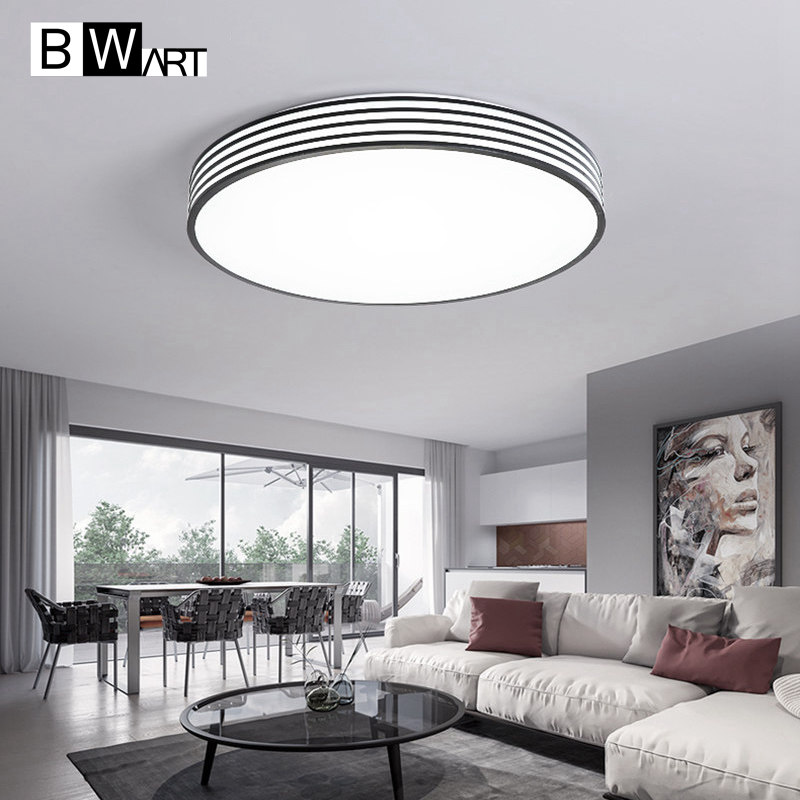 BWART Modern office Minimalism LED Chandelier Black and white stripes Bedroom office study Ceiling Chandelier lighting furuyama m ando modern minimalism with a japanese touch taschen basic architecture series