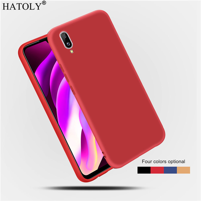 Cover Vivo Y97 Case Cover For Vivo Y97 Matte Soft Case TPU Silicone Shell Bumper Protective Phone Cover for Vivo Y83 Y93 Y97