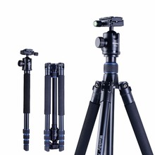 Manbily AZ300 Professional Tripod For DSLR Camera Compact Travel Tripod Monopod With Ball Head SLR Camera Stand Better than Q999 стоимость
