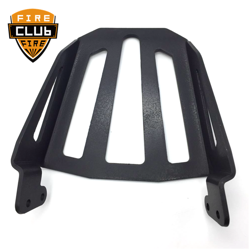 Steel Motorcycle Sport Sissy Bar Backrest Rear Luggage Rack Black For Yamaha Star Bolt XVS950 XV950 XVS XV 950 R 2014-2017