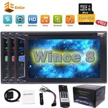"Doppio Din Car automotive DVD GPS Navigation 6.2 ""Automobile auto audio Stereo Radio GPS Bluetooth USB/SD Player 1080 P Radio Capacitivo"