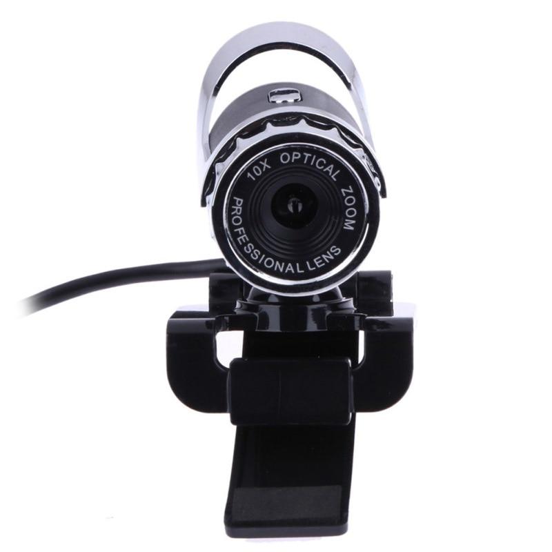 USB 2.0 Webcam 12.0 Mega Pixel Webcam 360 Degree MIC Clip-on for Skype Computer Laptop notebook gdstime 10 pcs dc 12v 14025 pc case cooling fan 140mm x 25mm 14cm 2 wire 2pin connector computer 140x140x25mm
