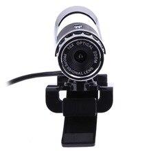 USB 2.0 Webcam 12.0 Mega Pixel Webcam 360 Degree MIC Clip-on for Skype Computer Laptop notebook