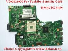 Placa mãe para toshiba satélite c655, para laptop v000225000 › hm55 pga989 ddr3, totalmente testado