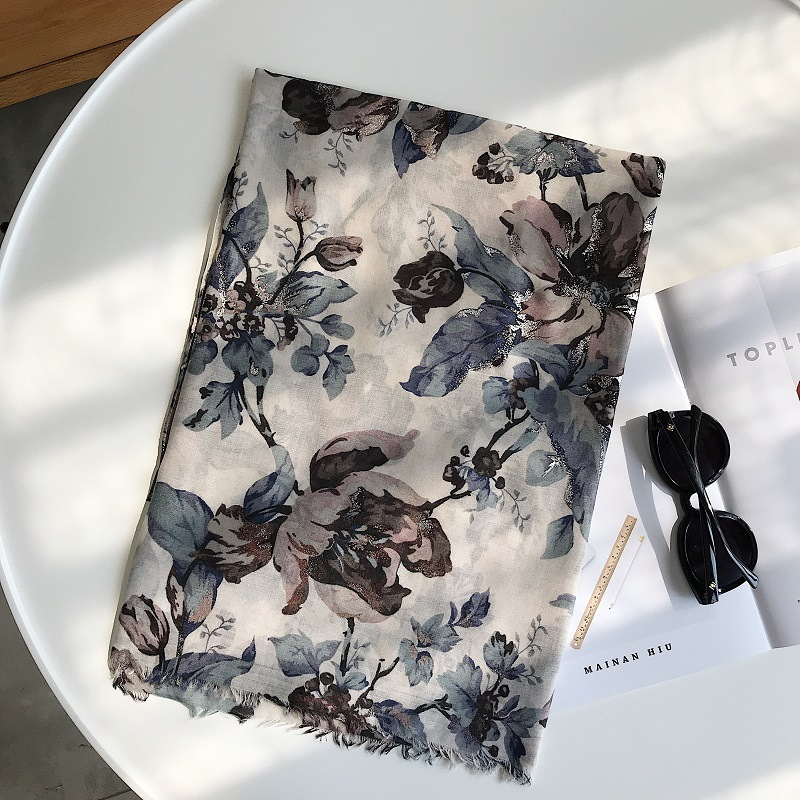 xale moda lenços xales muçulmano impressão echarpe