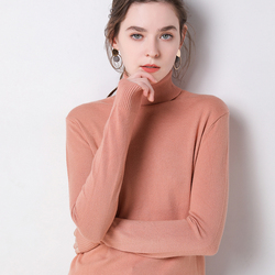 2019 Autumn Winter sweater women turtleneck cashmere sweater  knitted pullover women sweter fashion sweaters new Plus Size tops 5