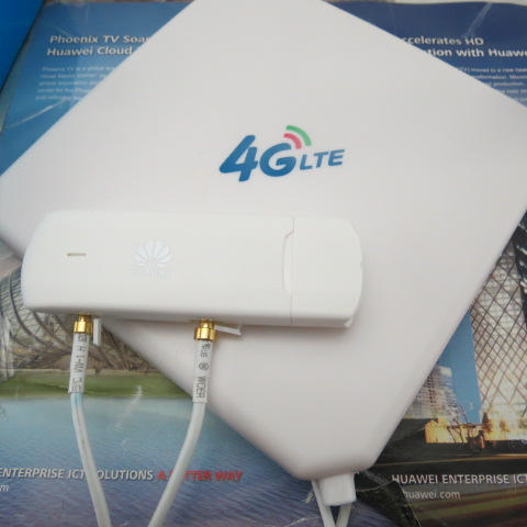 ФОТО Unlock 150Mbps HUAWEI E3272 4G LTE cat4 Modem usb stick e3272s 153 +High gain 35dbi crc9 External Antenna