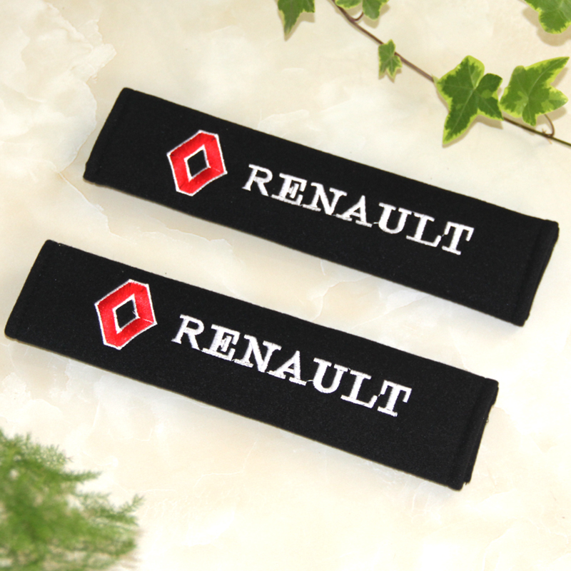 Car styling car sticker all cotton case for Renault duster megane 2 logan renault clio accessories car-styling 2PCS/LOT