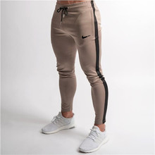2019 summer New Fashion section Pants Men Casual Trouser Jogger Bodybuilding Fitness Sweat Time limited Sweatpants Size M-XXL