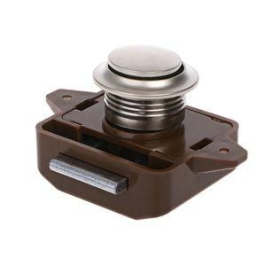 Image 4 - 1 Pc Car Push Lock RV Caravan Boat Motor Home Cabinet Drawer Latch Button Locks For Furniture Hardware Accessories