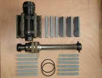 Lavorazione dei metalli strumento Buco Profondo bore cylinder horning strumento strumenti Doppia rettifica testa di levigatura abrasiva hone (200mm-250mm)