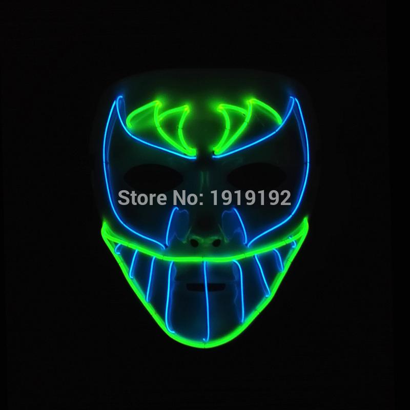 HTB1Cs6oRVXXXXXGaXXXq6xXFXXX4 - Mask Light Up Neon LED Mask For Halloween Party Cosplay Mask PTC 260