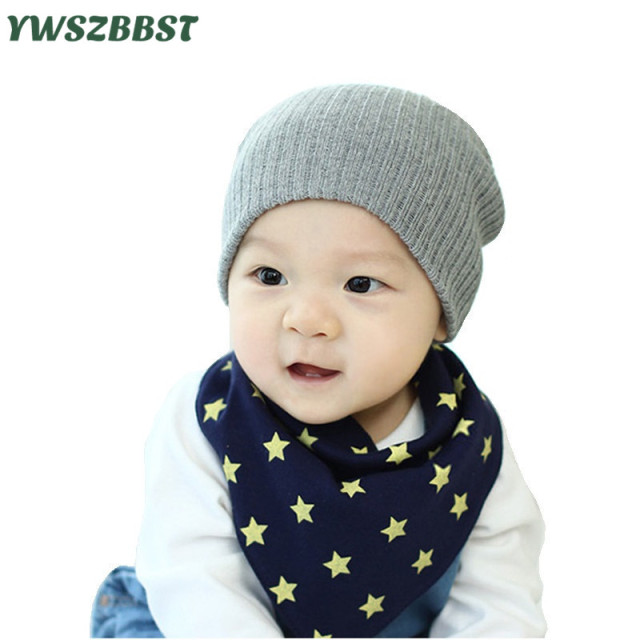 45e79d40dc1 Fashion Baby Hat Crochet Kids Hat for Boys Children Hat for Girls Autumn  Winter Warm Baby Caps Beanies fit 0-3 Years old