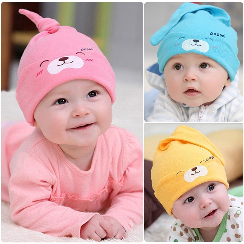 cute winter autumn cartoon bear baby hat caps baby beanie girls boys toddlers cotton font b