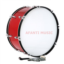 25 inch / Red Afanti Music Bass Drum (BAS-1522)