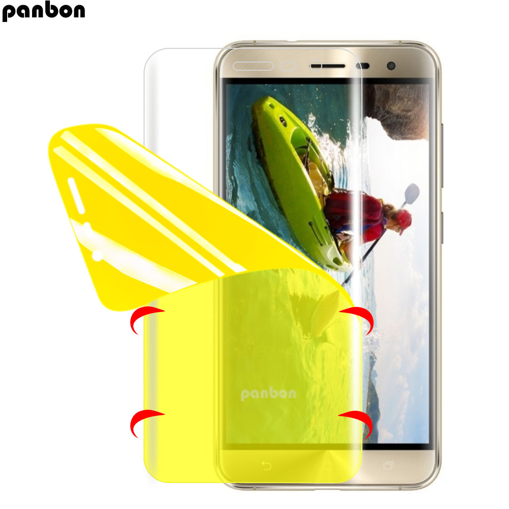 Panbon για ZE520KL Πλήρης κάλυψη TPU Nano για Asus Zenfone 3 max ZE520KL ZC520TL Anti-scratch Screen Soft Protective Film