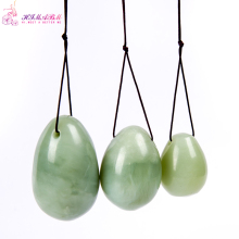 лучшая цена HIMABM natural jade egg for Kegel Exercise 3pcs in 1 set pelvic floor muscles vaginal exercise yoni egg ben wa ball for woman