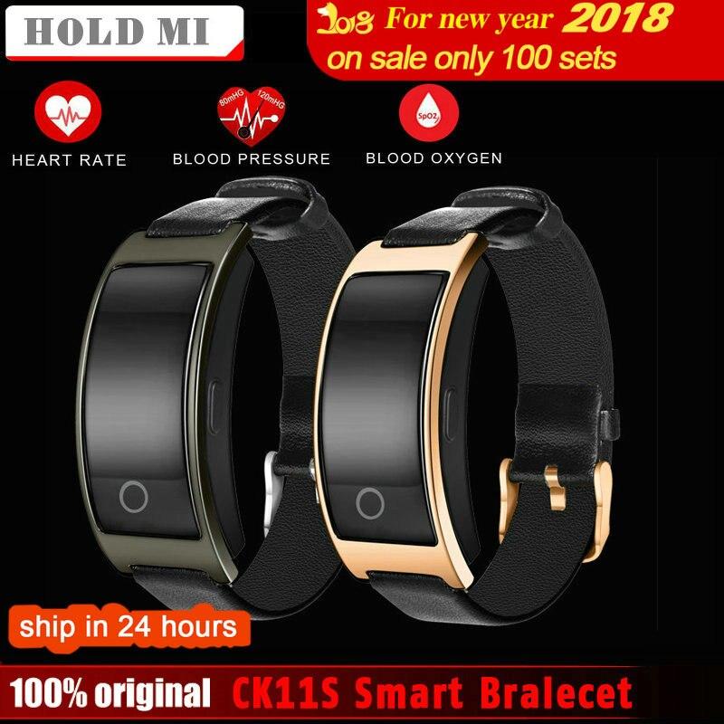 Tenir Mi CK11S Intelligent Bluetooth Bracelet Coeur de La Pression Artérielle Moniteur de Fréquence Montre-Bracelet Fitness Bracelet Tracker Podomètre Bracelet