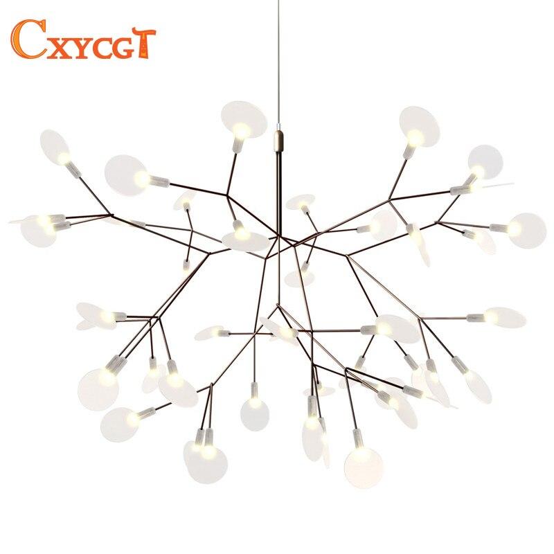 Moderne LED Grande Branche D'arbre Lustres Luminaire Lampe pour ...