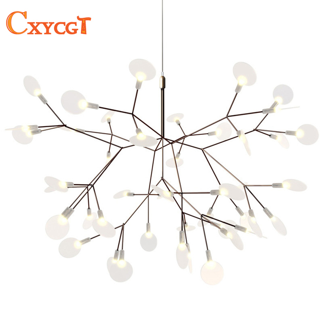Moderne LED Grande Branche D\'arbre Lustres Luminaire Lampe pour ...