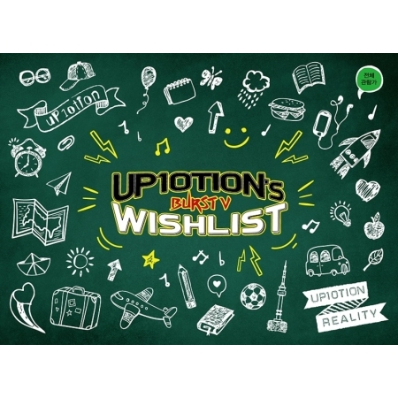 UP10TION - UP10TION's WISHLIST BURST V  Release date  2017.09.15 jay park 3rd album everything you wanted release date 2016 10 25