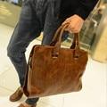JIANBUDAN leather bag Men briefcase, leisure handbag, men shoulder bag, handbag business work, new fashion business briefcase