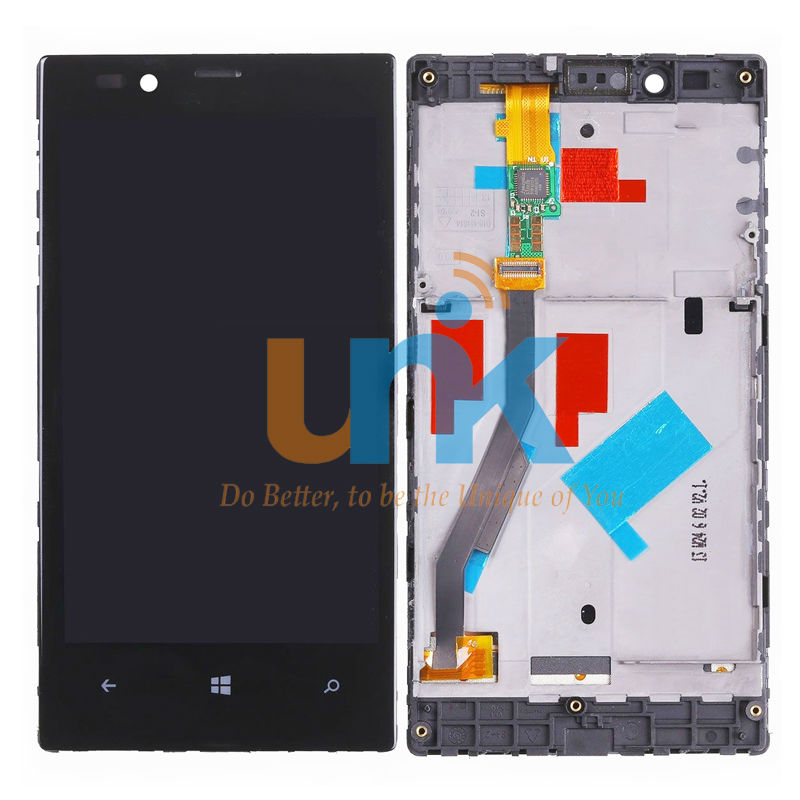 Original LCD Display for Lumia 720 For Nokia 720 RM-885 Zeal LCD Display + Touch Screen Digitizer Assembly + Frame Free Shipping