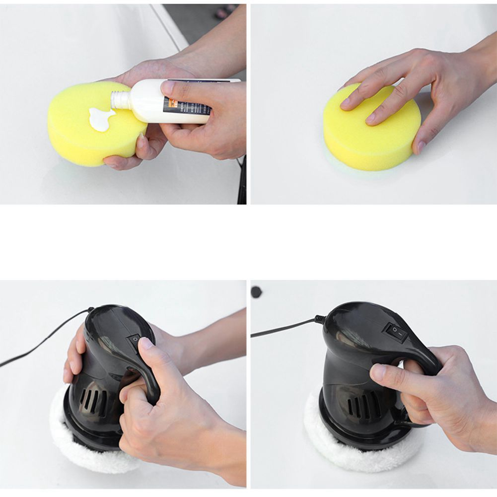 Mini DC12V 40W Car Polishing Machine Waxing Machine Electric Gloss Paint Power Scratch Remove Beauty Care Repair Polisher