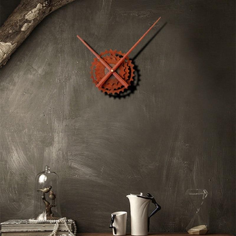 Ժամացույցների մեխանիզմ Պատի ժամացույցի սարսափելի որմնանկարներ Դիտեք հավաքածուներ Reloj Saat Mecanismo reloj զուգակցված կենցաղային արտադրանքներին