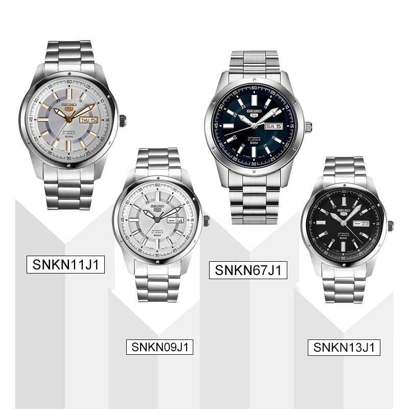 Seiko 5 100% Original montre pour hommes mode affaires montre résistance à l'eau lumineux hommes montre-bracelet
