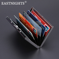 2015 New Arrival High Grade Stainless Steel Men Credit Card Holder Women Metal Bank Card Case