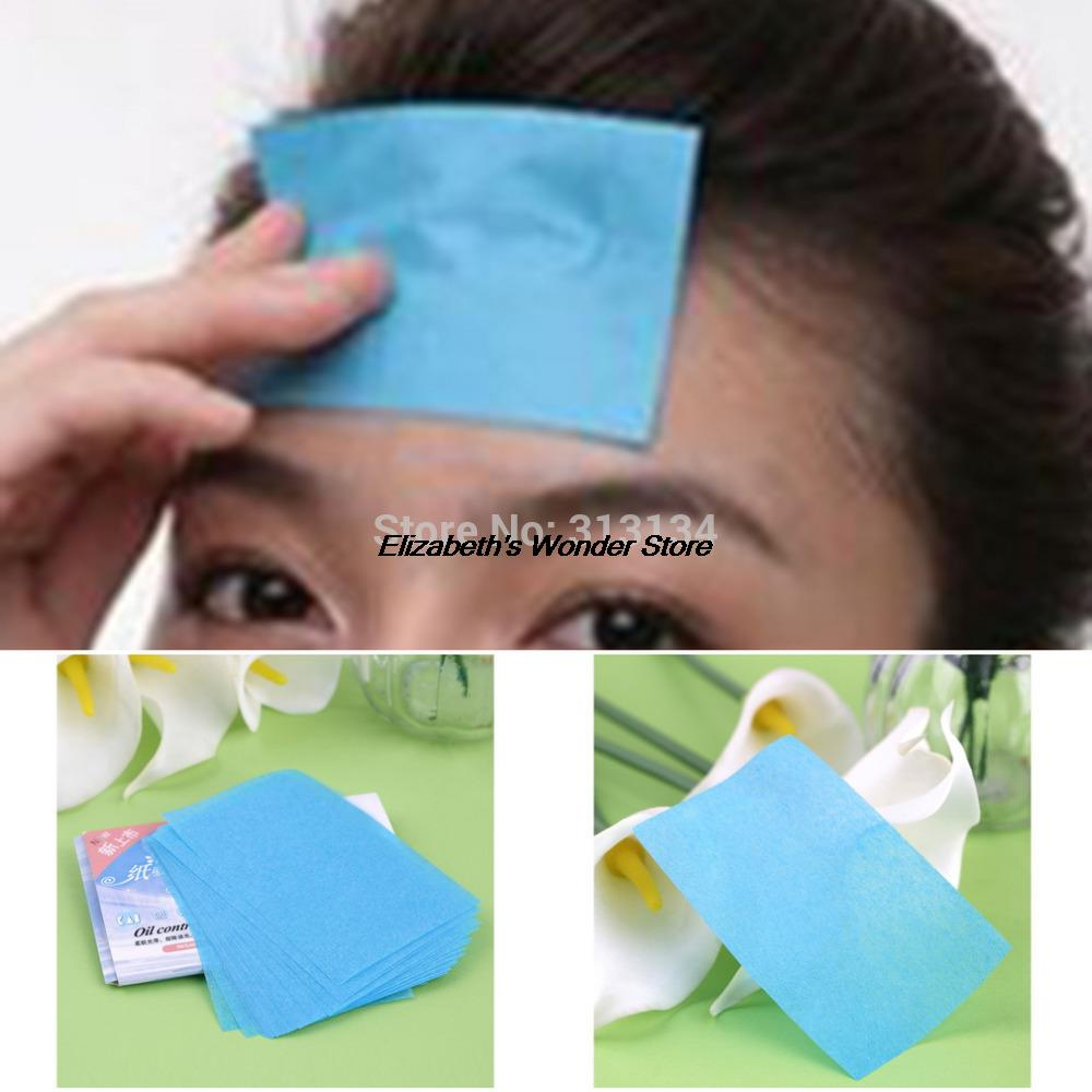 1 pack  (50 Pcs) Paper Pulp Random Facial Oil Control Absorption Film Tissue Makeup Blotting Paper