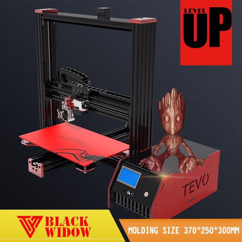 Newest Tevo Black Widow High Precision 3D Printer Factory Ship Directly Cheap Price Machine DIY 3D