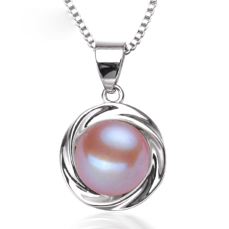 Nueva moda de agua dulce collar de perlas colgante de las mujeres, - Joyas - foto 2