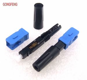 Image 4 - GONGFENG connecteur rapide pour Fiber optique, simple Mode SC/UPC, 100 pièces, FTTH, connecteur rapide encastré, vente en gros, spécial