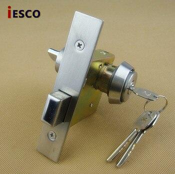 Aluminum Alloy glass door glass door lock door lock 351 flat open door