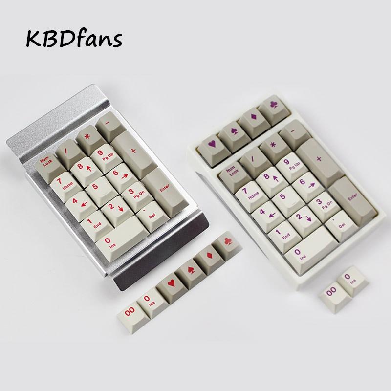 Digital mechanical keyboard  with enjoypbt nub keycap cherry profile keycaps enjoypbt cmyw 24 keycaps cherry profile top print 24 keys for mechanical gaming keyboard 19 rgby wkl