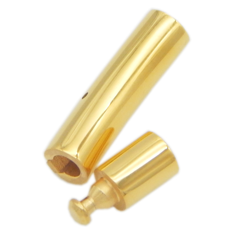 Stainless Steel Bayonet Snap Lock End Clasps fits 2/3/4/5/6/8mm Leather Cord DIY Jewelry Making Bracelet Necklace Clasp Findings