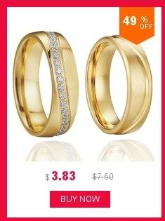 Alianças anel de noivado de aço de