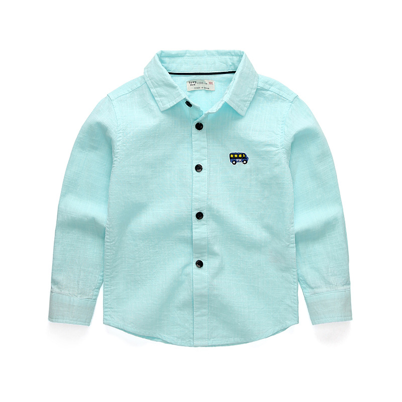 2019 New Children Boys Shirts Fashion Casual Boys White Shirt Toddler Blouse Baby Girl Shirts Kids Boy Spring/Autumn Clothes