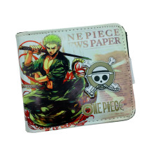 Free Shipping Anime Cartoon Wallet One Piece/Tokyo Ghoul//Kirito Japanese Comics Wallets Three Fold New Design Purse