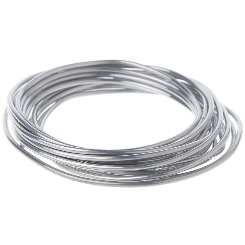 2.00mm*3m Copper aluminum cored wire Low Temperature Aluminium Welding Rod New 2 00mm 3m copper aluminum flux cored wire copper weld wire low temperature copper aluminum welding rods for ac
