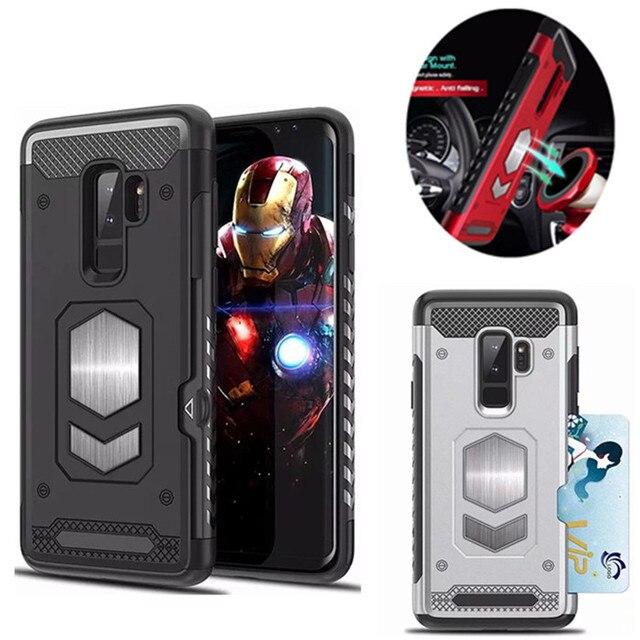 Для samsung Galaxy S7 край S8 S9 S10 плюс E S10E Примечание 5 8 9 магнитных Броня чехол для A5 J3 J5 J7 2017 A7 A9 A6 A8 плюс J4 J6 2018
