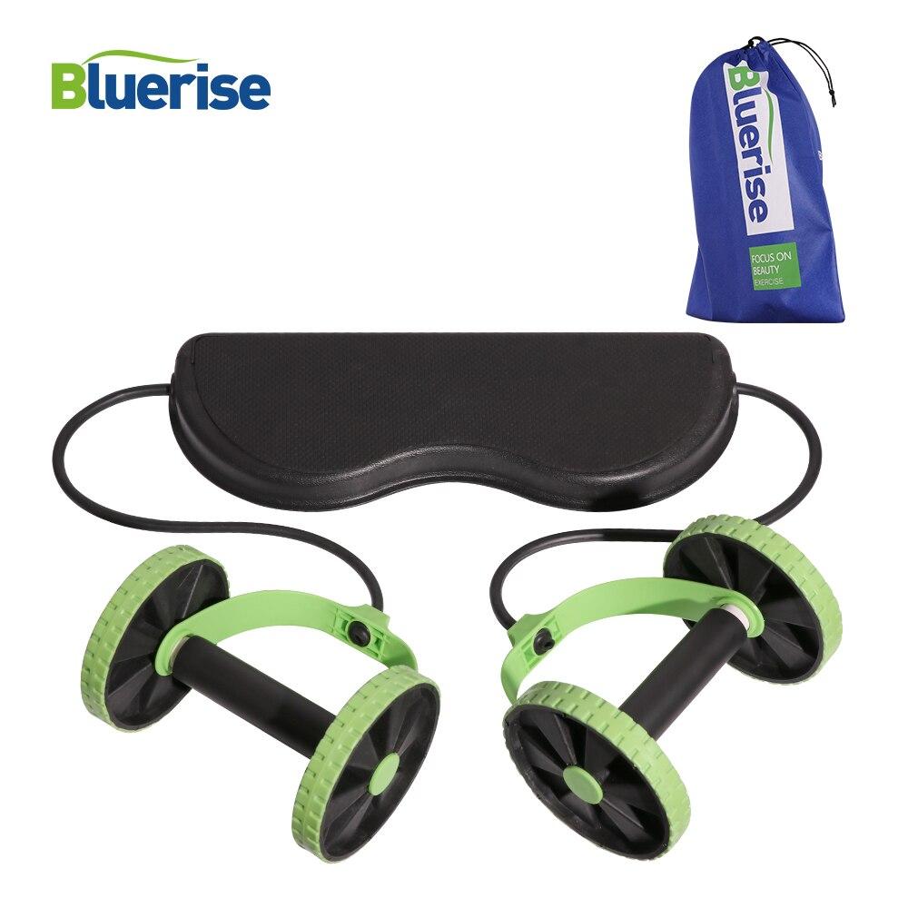 BLUERISE Multi-fonction AB Rouleau De Roue Adultes Abdominale Machine Équipement De Salle De Sport ABS Équipement De Conditionnement Physique Pour Home Trainer
