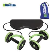 BLUERISE Многофункциональный AB роликовые колеса взрослых брюшной машина тренажерный зал оборудования ABS Фитнес оборудование для дома тренер