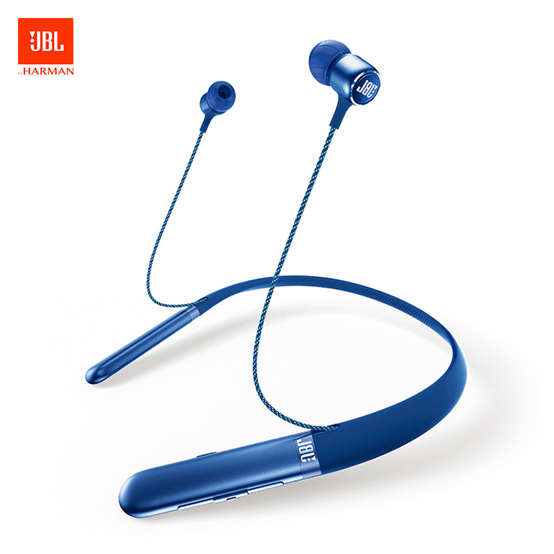 Jbl Live 200 Bt Wireless Bluetooth Sport Hifi Earphones In Ear Neckband Earphones With Three Button Remote With Microphone Aliexpress