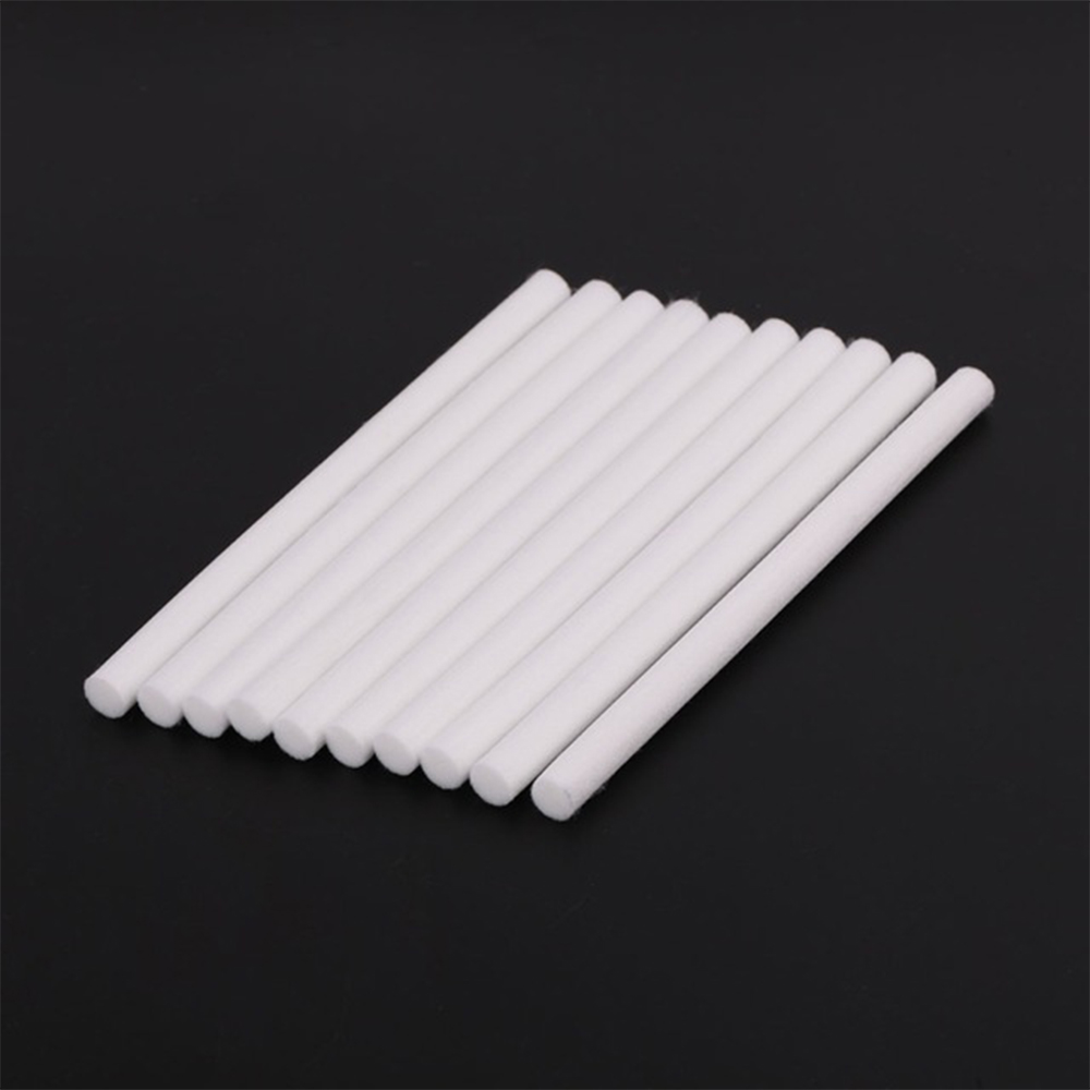 Himist® 10PcSet 8mm*130mm Humidifiers Filters Cotton Swab For USB Air | eBay